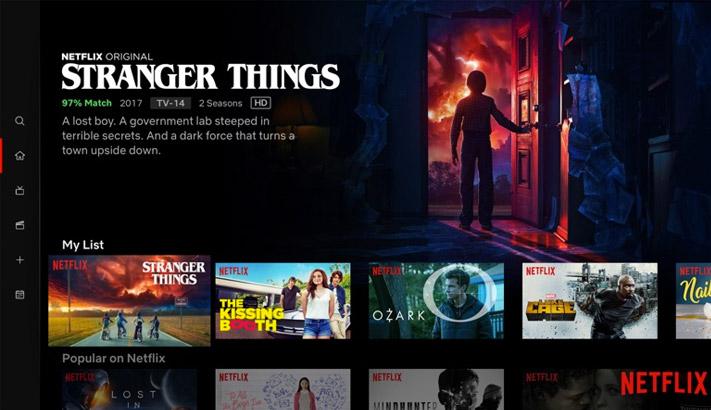 Netflix Apple TV App Screenshot