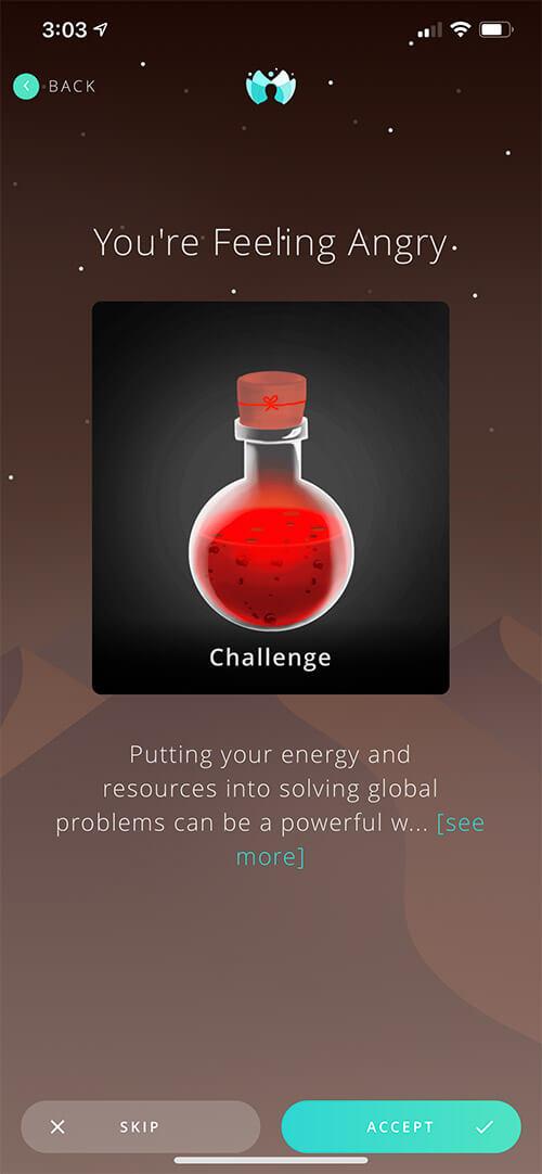 NeuraBoot Stress Buster iOS App Screenshot