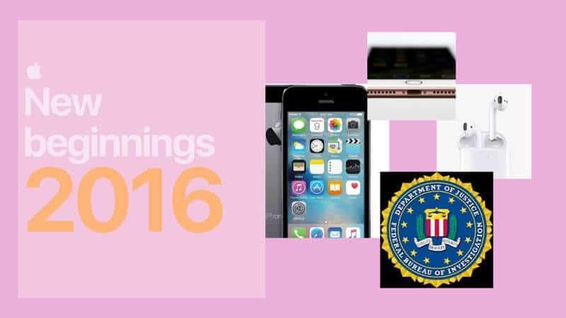 New Beginnings for Apple in 2016
