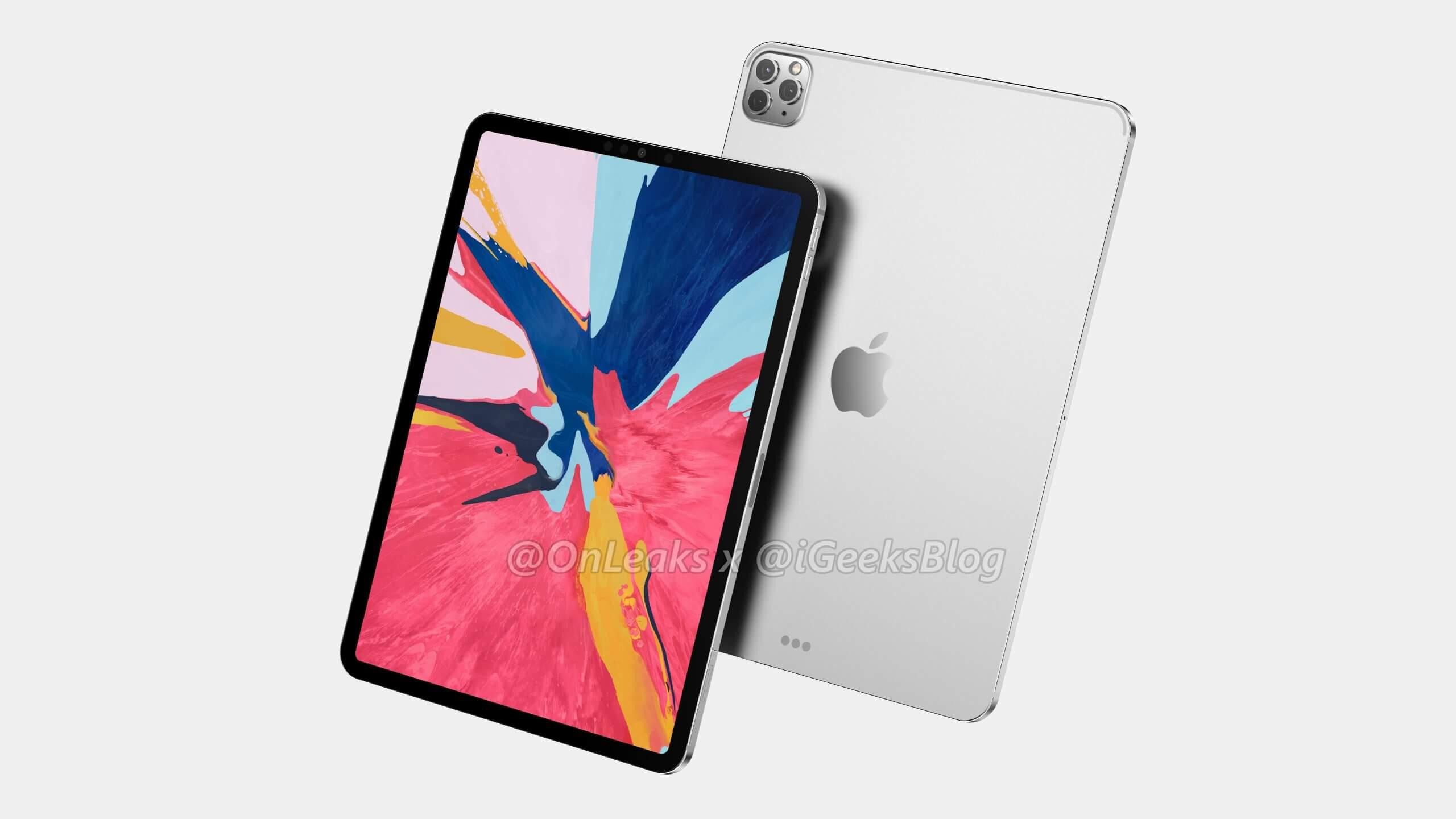 New render show 2020 11-inch iPad Pro