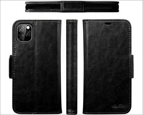 Newseego Folio Case for iPhone 11 Pro Max