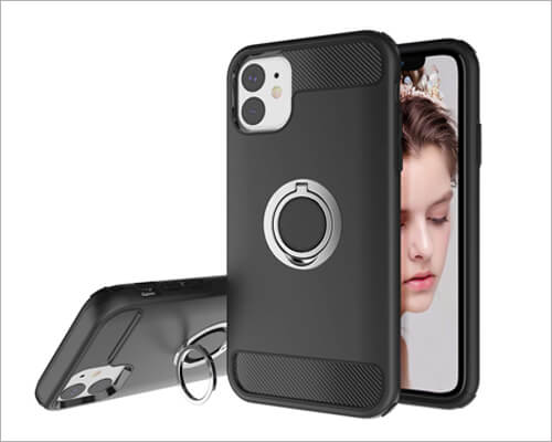 Newseego iPhone 11 Ring Holder Case