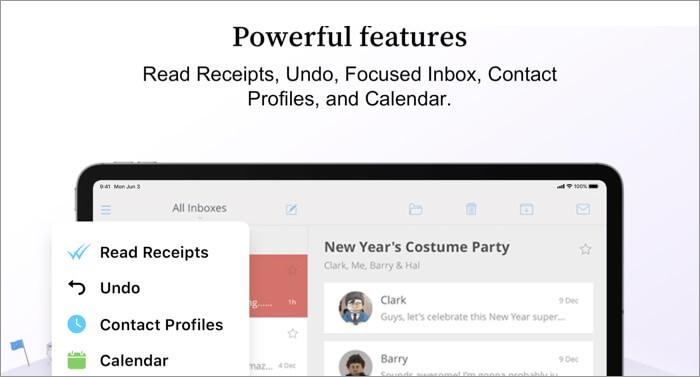 Newton Mail Email Mac App Screenshot