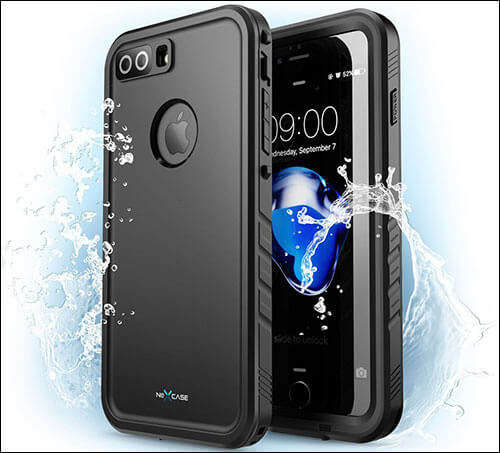 NexCase Waterproof Case for iPhone 7 Plus