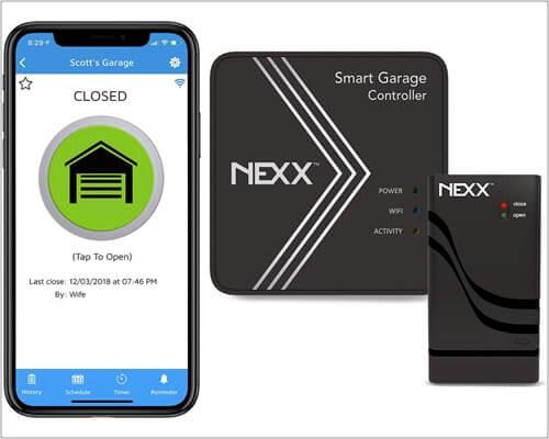 Nexx Garage HomeKit Garage Door Opener