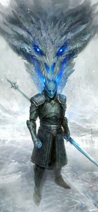 Night King iPhone Game of Thrones Wallpaper