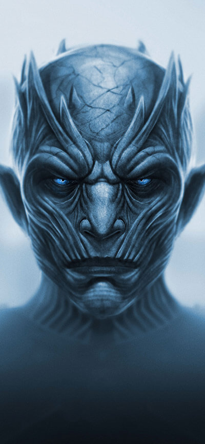 Nightking Artwork iPhone Game of Thrones Wallpaper