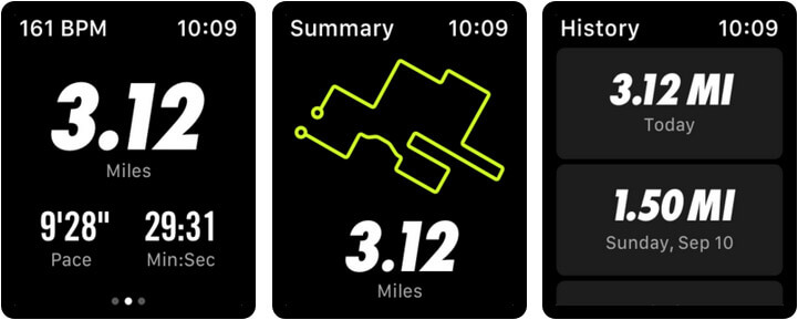 Nike Run Club Apple Watch Running App Screenshot