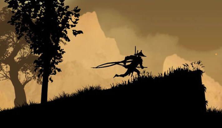 Ninja Arashi iPhone and iPad Game Screenshot