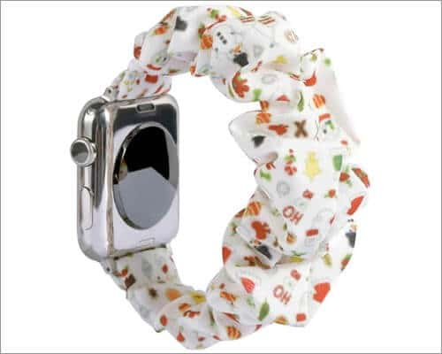 Ninyeke Christmas Special Scrunchie Strap for Apple Watch