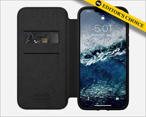 Nomad Rugged Wallet case for iPhone 12 and 12 Pro