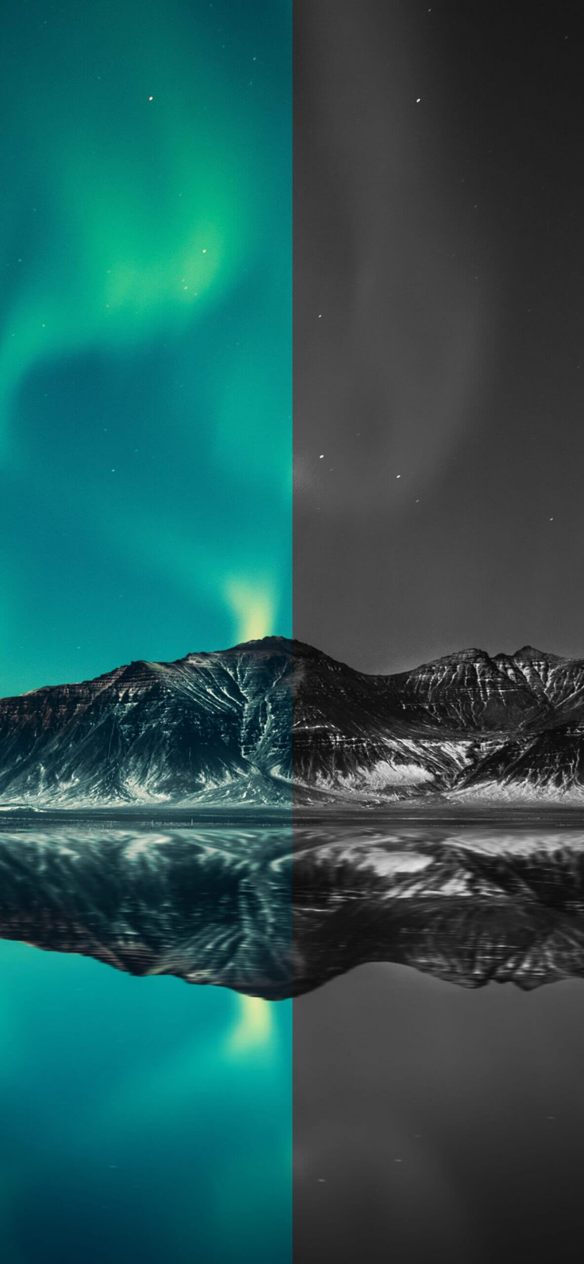 northern lights are calling iphone wallpaper by igeeksblog