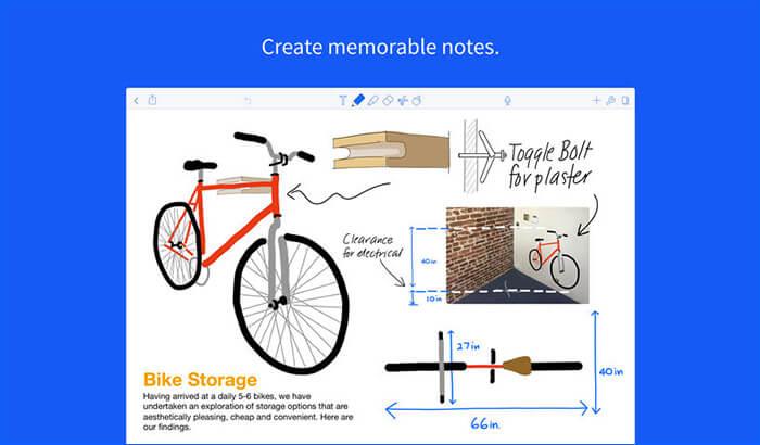 Notability iPad Note Taking App Screenshot