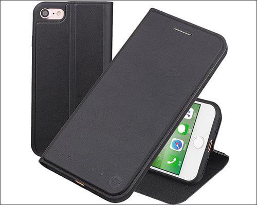 Nouske iPhone 7 Flip Folio Case