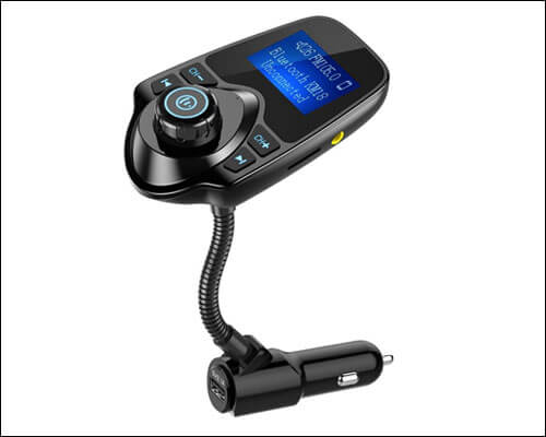Nulaxy Bluetooth Car FM Transmitter for iPhone 6 and 6 Plus