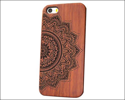 Nurbo iPhone 6, 6s Plus Wooden Case
