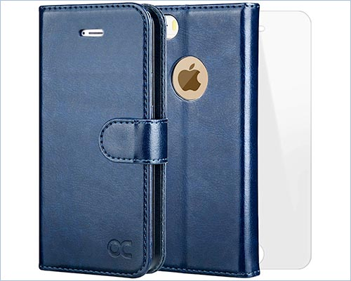 OCASE iPhone 5s and iPhone SE Leather Case