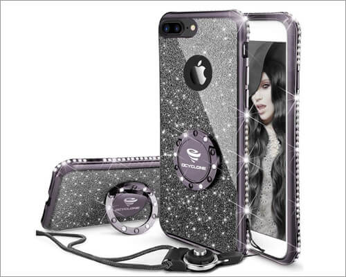 OCYCLONE Ring Grip Case for iPhone 8 Plus