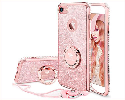OCYCLONE iPhone 7 Ring Holder Case