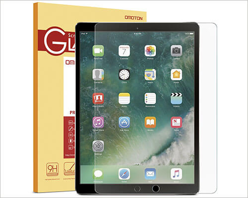 OMOTON iPad Pro 12.9-inch 2015-2017 Tempered Glass Screen Protector