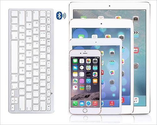 OMOTON iPhone 7-7 Plus Wireless Bluetooth Keyboard