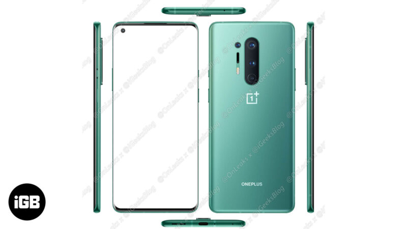 ONEPLUS 8 PRO Official Image
