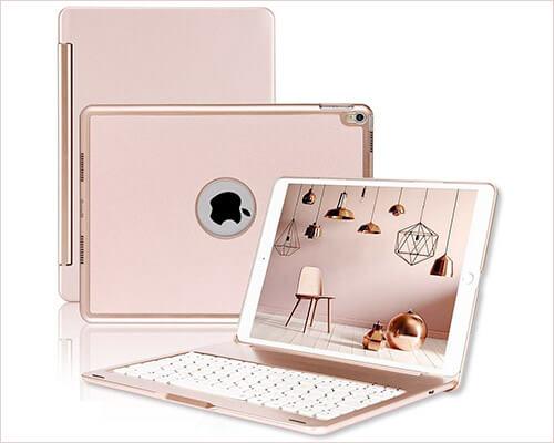 ONHI iPad Pro 10.5-inch Keyboard Case
