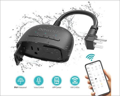 OOWOLF Outdoor Smart Plug
