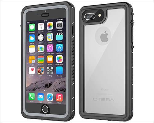OTBBA iPhone 8 Plus Waterproof Case