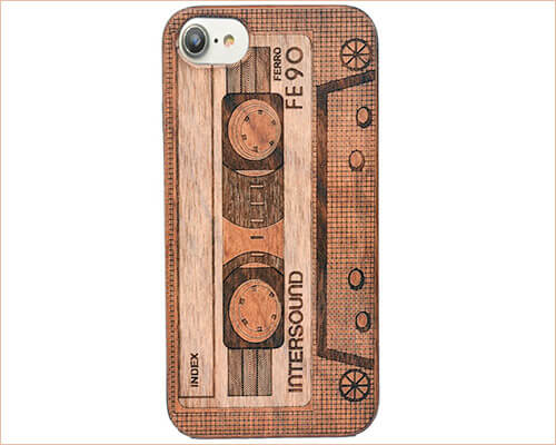 OTOOLWORLD iPhone 7 Wooden Case