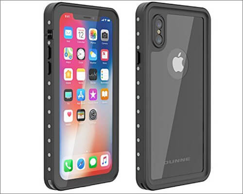 OUNNE Waterproof Case for iPhone X-Xs