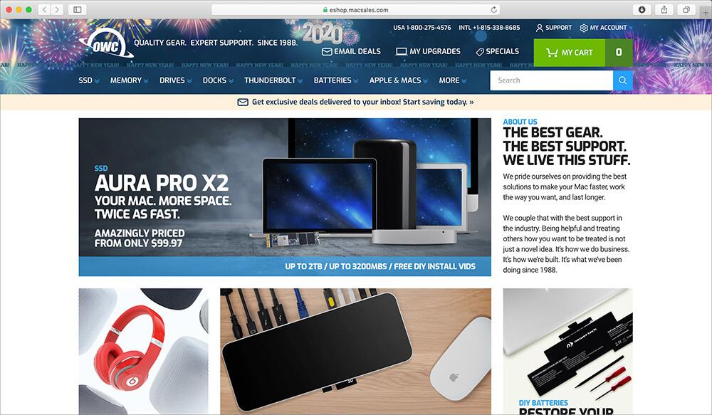 OWC Refurbished Macbook Store