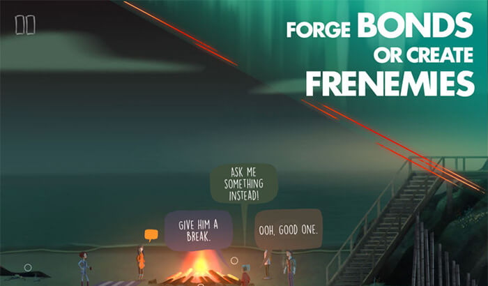 OXENFREE iPhone and iPad Adventure Game Screenshot