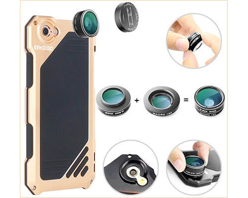 OXOQO Camera Lens for iPhone 6-6s Plus