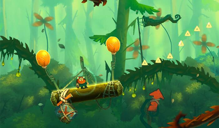 Oddmar iPhone and iPad Adventure Game Screenshot