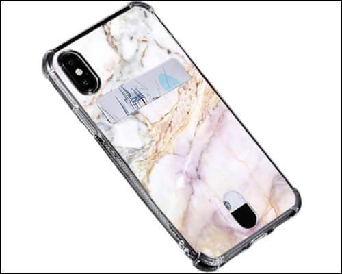 Oddss iPhone X, Xs Card Holder Wallet Case