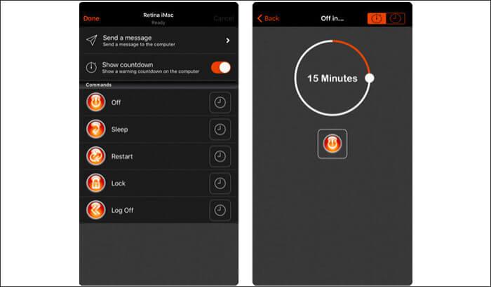 Off Remote iPhone and iPad App Screenshot