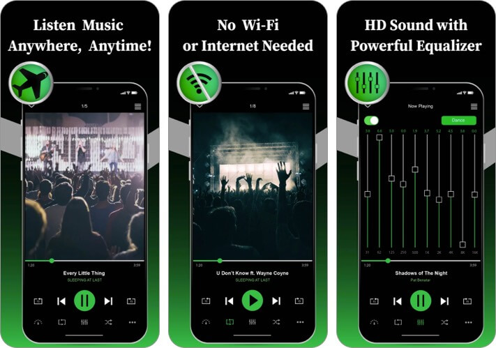 Offline Music Player App to Download Free Music on iPhone