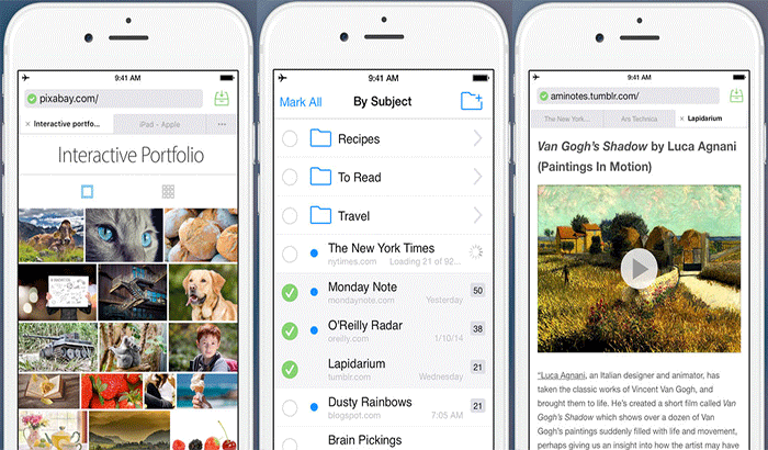 Offline Pages Pro iPhone and iPad App Screenshot