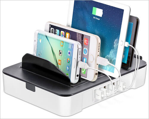 Okra iPhone X, 8, and iPhone 8 Plus Docking Station