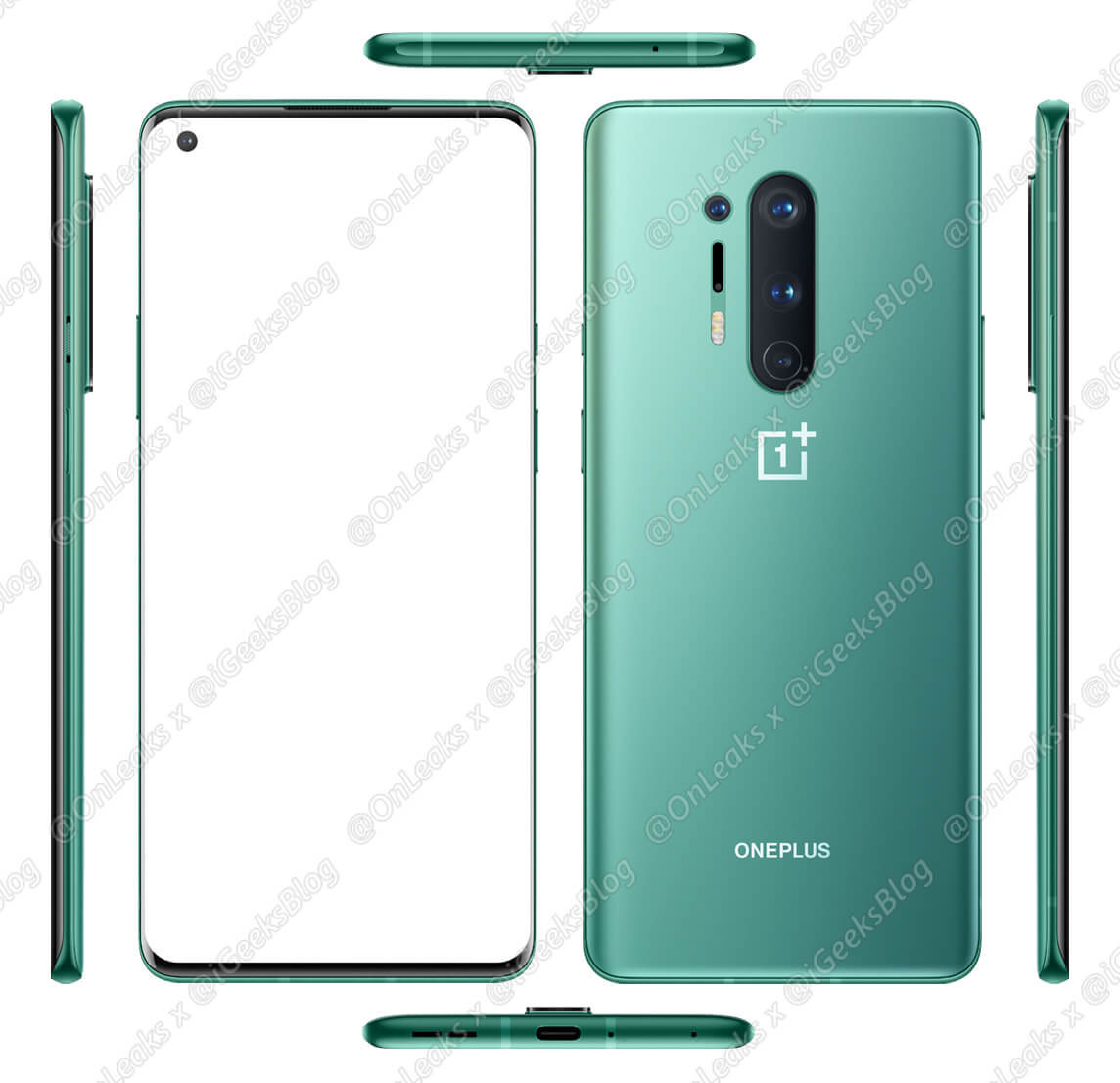 OnePlus 8 Official Press Render