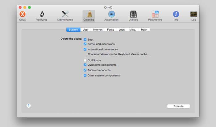 OnyX Mac Cleaner Software