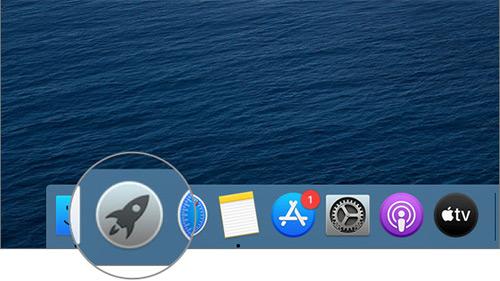 Open Launch Pad on Mac