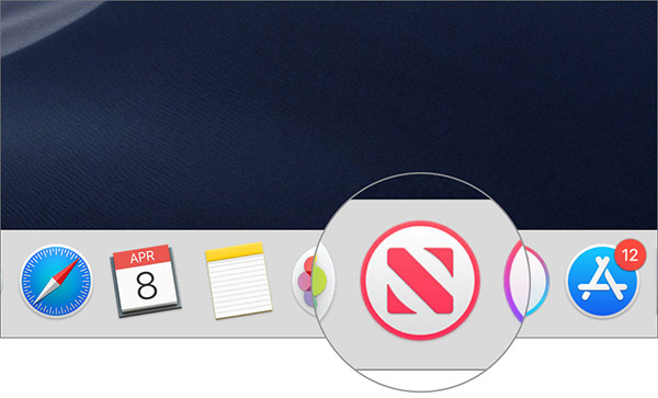 Open News app on Mac