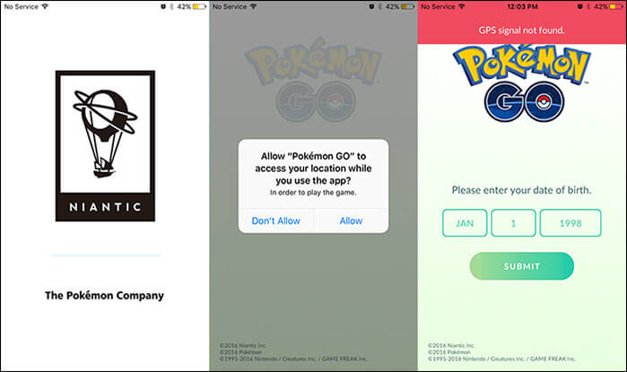 Open Pokemon on iPhone or iPad