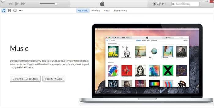 Open iTunes on Windows or Mac