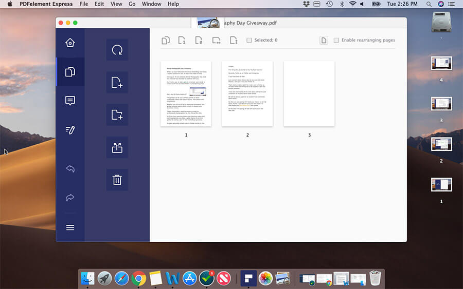 Organize PDF Pages in Sync on Mac
