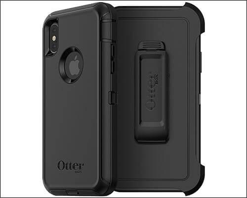 OtterBox DEFENDER iPhone X Belt Clip Case
