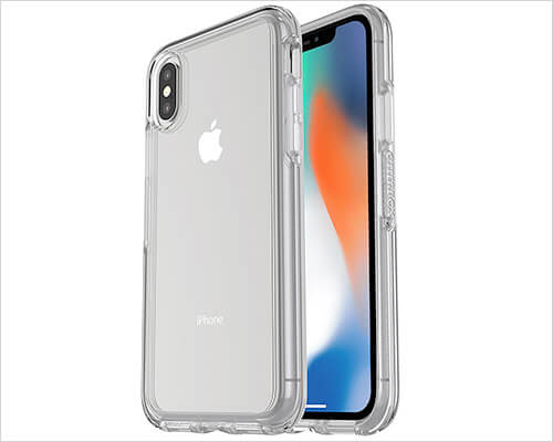 OtterBox SYMMETRY iPhone X Clear Case