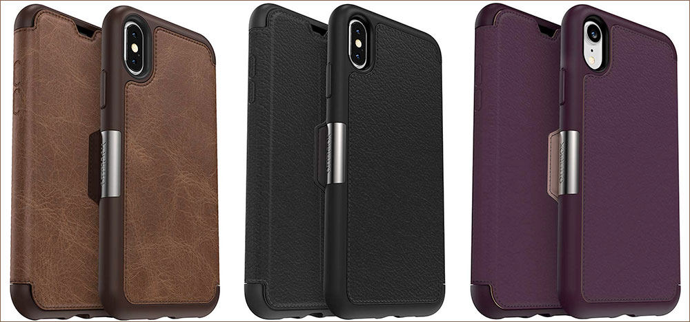 OtterBox Strada Series Case for iPhone Xs Max, Xs, and iPhone XR